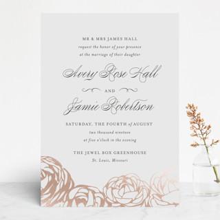 Adoration Foil-Pressed Wedding Invitations