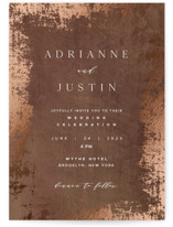 Woodland Hills Foil-Pressed Wedding Invitations