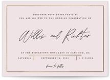 Pinecrest Foil-Pressed Wedding Invitations
