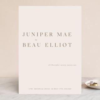 Juniper Wedding Invitations