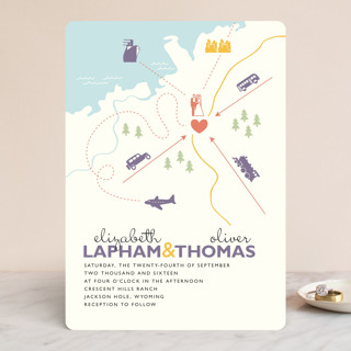 Destination Wedding Invitations