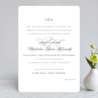Charming Go Lightly Wedding Invitations