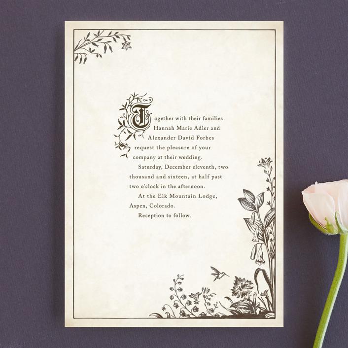 Story Book Wedding Invitations By Jody Wody