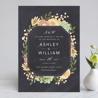 Botanica Wedding Invitations