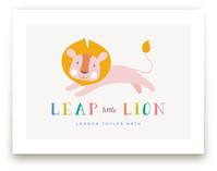 Leap Little Lion