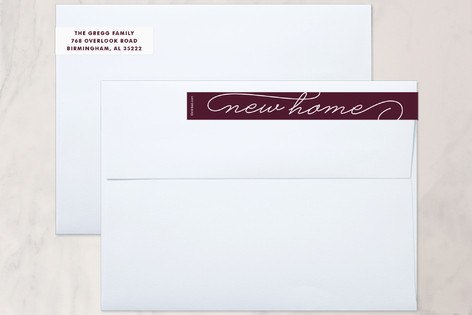 Home for the Holidays Skinnywrap™ Address Labels