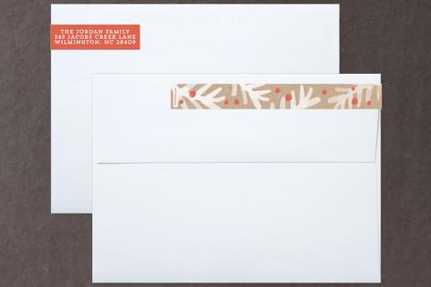 Winter Foliage Frame Skinnywrap™ Address Labels