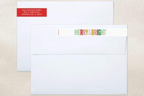 Brightly Colored Skinnywrap™ Address Labels