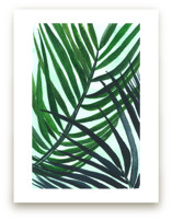 Crossed Palms by Kara Aina