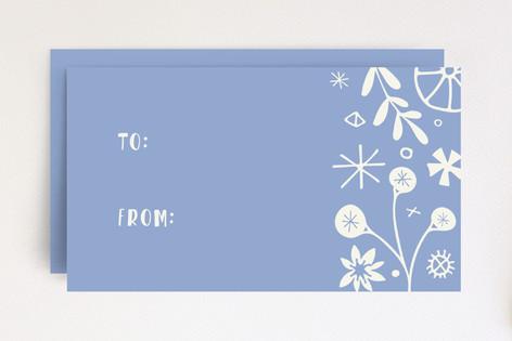 Vintage Floral Tag Mini Cards