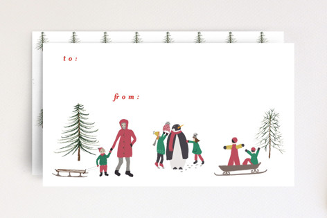 Build a Snow Person Mini Cards