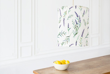 provencial summer Self Launch Chandelier Lampshades