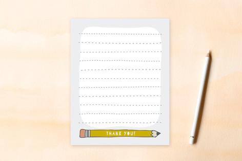 write it up Children's Flat Stationery