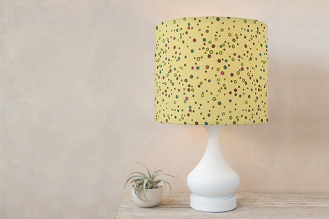 Throwing Stones Self Launch Drum Lampshades