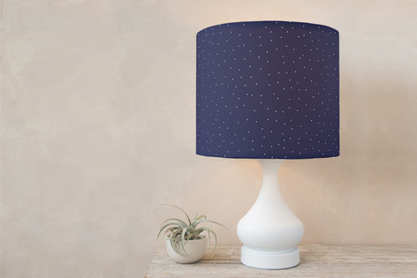 Winter Self Launch Drum Lampshades