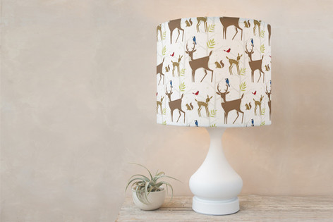 Fawna Self Launch Drum Lampshades