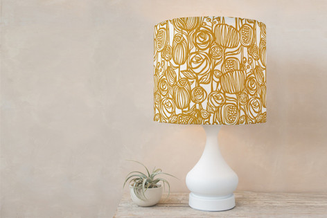 Capri Self Launch Drum Lampshades