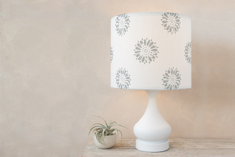 Vintage Floral Blossom Self Launch Drum Lampshades