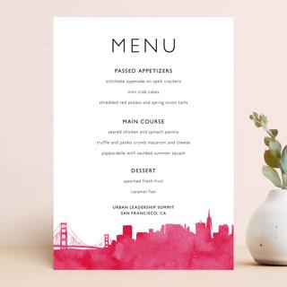 Skyline-San Francisco Menu Cards