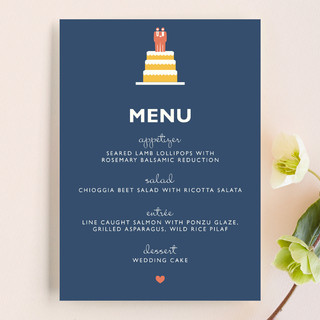 Two Grooms Destination Menu Cards