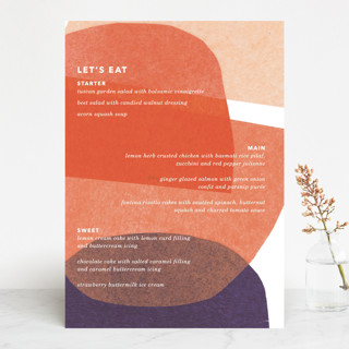 tissue texture Menu Cards