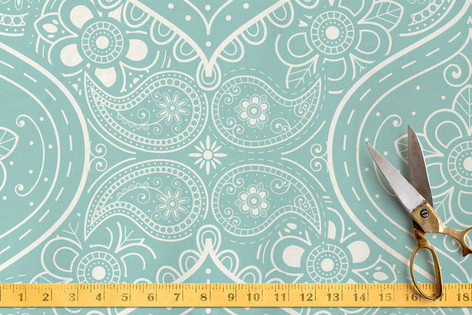 Not Your Mama's Paisley Fabric