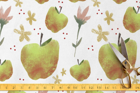 FLORA and the FRUIT 6 Fabric