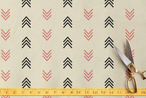 stache + kiss-1 Fabric