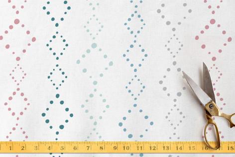 Bohemian Diamond Fabric