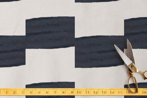 Wide Stripe Ikat Fabric