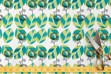 Leaves pattern Fabric