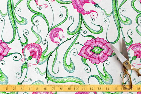 indian oriental Fabric