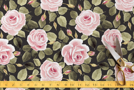 Flowering time Fabric