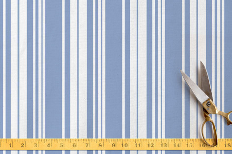 South of France Stripes Fabric