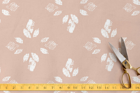 Printed Petals No. 1 Fabric