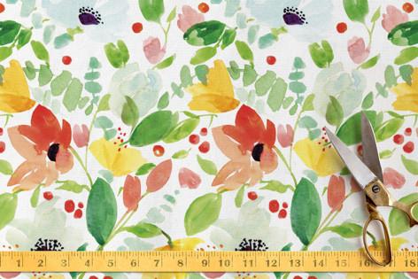 Painted Garden Fabric