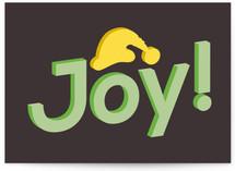 Joy & Santa Hat Cards