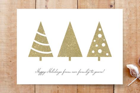 Holiday Tree Row Cards
