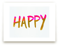 Happy Happy Letters by Christina Flowers