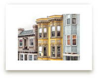 Row in San Fransisco by Mary Ann Glynn-Tusa