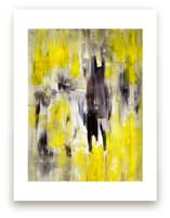 Lemon Burst Wall Art Prints