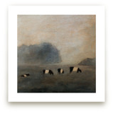 Cows in the Mist by claire whitehead