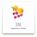 June fruits Wall Art Prints