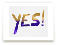 Yes! Yes! by Christina Flowers