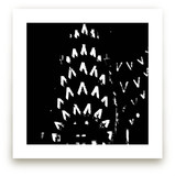 an ICON (b&w) by Gail Schechter