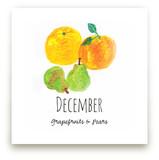 December fruits Wall Art Prints