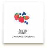 August fruits Wall Art Prints