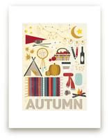 4 Seasons : Autumn Wall Art Prints