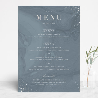 Moody Marbling Gloss-Press™ Menus