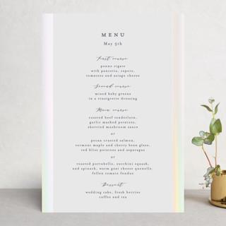 Dreaming of a white wedding Gloss-Press™ Menus